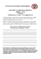 2016JanuaryCommunityMeeting