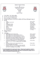 TBC Meeting Agenda 05.16.2017