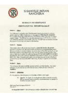 Burial Fund Ordinance 2005-003 Revision F